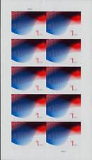 2015 $1 Patriotic Wave, Billowing Flags, Pane of 10 Scott 4953 Mint F/VF NH