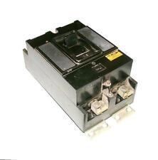 WESTINHOUSE 2-POLE 100 AMP 600 VAC CIRCUIT BREAKER TYPE G FRAME 1072018