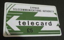 £5 Cyprus PHONE CARD Code: 6CYPA TELECARD RRRR EXTREMELY RARE CYTA LOGO magnetic