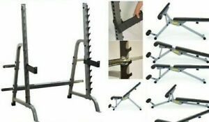 Body-Solid Commercial Multi-Press Rack with York 13-in-1 Bench Delivery/Assembly
