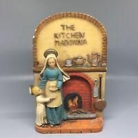 "Vintage Resin ""The Kitchen Madonna"" Marked Italy"