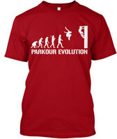 Parkour Evolution - Hanes Tagless Tee T-Shirt