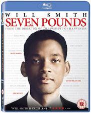 SEVEN POUNDS - BLU-RAY - REGION B UK