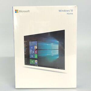 New Microsoft Windows 10 Home English 1PC 32/64 Bit USB 3.0 Retail OS 18047 CP