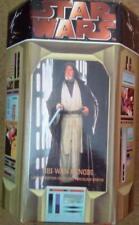 Star Wars Obi Wan Cold Cast porcelaine Statue LTD 1000 COA Signé par les deux scultor
