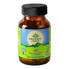 ORGANIC INDIA LKC ( Liver Kidney Care) 60 Capsules Free Shipping