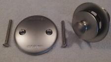 NEW Watco #38290-PN-2H Pearl Nickel PUSH PULL® Bathtub Trim Kit