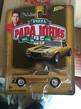 johnny lighting Papa Johns 25th Anniversary  Car