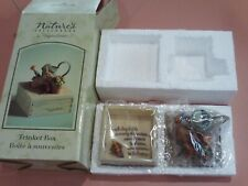 Hallmark Marjolein Bastin Rabbit Watering Can Trinket Box Natures Sketchbook