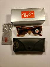 NEW RAY-BAN RB 2248 954/57 CARIBBEAN TORT AUTHENTIC SUNGLASSES 52-22 POLARIZED
