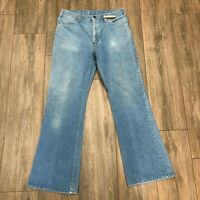 Vintage 80s Lightwash Made IN USA Talon Zipper Denim Jeans H20