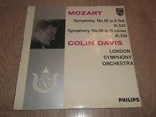Mozart Sinfónica 39 & 40 ~ Colin Davis lso Philips Vinilo Lp Ex/ex 1962 ~ 835113 Ay