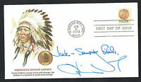 Oliver North signed autograph First Day Postal Cover FDC Political Commentator