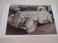 1935 PLYMOUTH COUPE WRECKED  11 X 17  PHOTO  PICTURE