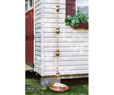 Good Directions Pure Copper Owl Rain 8.5 ft Chain Good473P8