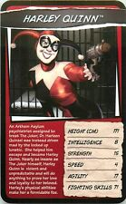 DC UNIVERSE TOP TRUMPS CARD HARLEY QUINN