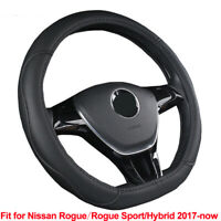 D Type Car Steering Wheel Cover For Nissan Rogue Sport Hybrid 2017 2018 2019 Now