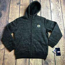 Carl Banks Youth Medium 12-14 Full Zip L/S Boston Celtics Jacket Fleece Lined
