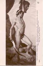 CPA - André Leroux (1911 - 1997) - David vainqueur de Goliath -  Salon de Paris
