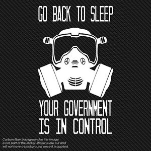 New World Order Obama Government Anarchy Syria Anonymous Occupy Decal Vinyl 6x10