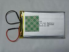 Batterie Li-ion Battery 3.7V 2000mAh 53*86mm avec double face (J18) 2008