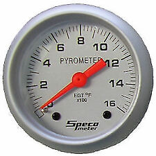 "SPECO SPORT SERIES 2"" 0-1600 DEGREE F EXHAUST TEMPERATURE GAUGE (PYROMETER)"