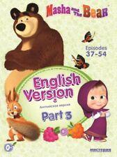 Masha and the Bear Episodes 37-54 English Version  Part 3 - Masha i medved DVD