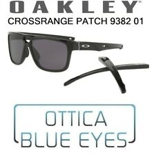 Occhiali da Sole OAKLEY CROSSRANGE PATCH OO 9382 Sunglasses 938201 Double Arms