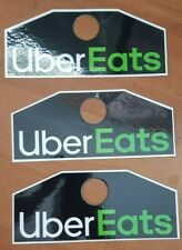 Three UberEats Hang Display Removable High Quality Signs Removable Delivery