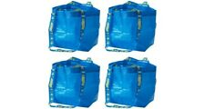 4x IKEA Small Tote Shopping Bag Reusable Laundry Storage Waterproof & ECO Bag