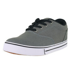 Heelys Mens Launch 770157M GRY Grey Canvas Mens US Size 12, UK 11