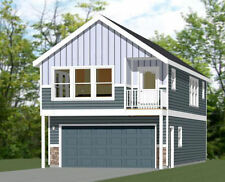 20x42 House - 2 BR 1.5 Bath - 2 Car Garage 1,153 sq ft- PDF FloorPlan - Model 2