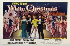 "IRVING BERLIN'S WHITE CHRISTMAS LONG -  POSTER 12"" X 18 - BING CROSBY DANNY KAYE"