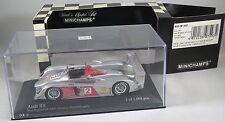 AUDI R8 LMP1 #2 McNish Capello ALMS 2006 New England GP LimeRock MINICHAMPS 1:43