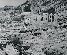 JORDANIE c. 1960 - Monastère Grec Mont de la Tentation Jéricho - Div 11209