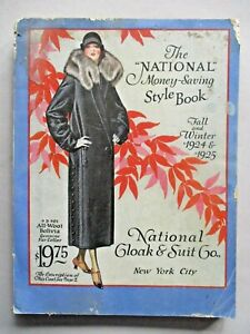National Cloak CATALOG - Fall/Winter, 1924-1925 ~~ 428 pages of clothes, fashion