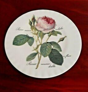 Roy Kirkham, Kuchenteller Redoute Roses, Bone China Neuw.