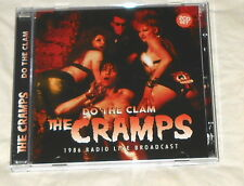THE CRAMPS do the clam USA 2-CD live 1986 radio broadcast and interview LIKE NEW