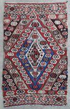 Tapis rug kilim ancien Persan Perse Turc Anatolie Tribal Oriental Rashwan 1850