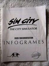 72628 Instruction Booklet - Sim City - Atari ST ()