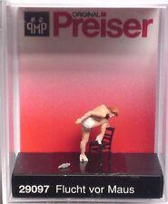 Preiser 29097 Escaping The Mouse 00/H0 Model Railway Figure