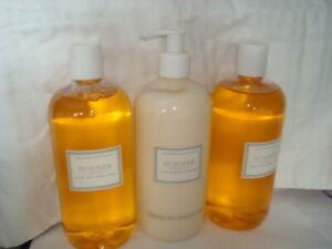 Crabtree & Evelyn Summer Hill Bath & Shower Gel x2; Lotion x1(500 ml e 16.9floz)