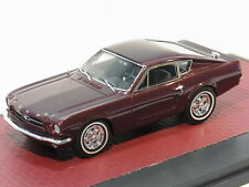 Ford Mustang Shorty Coupe Prototype 1964 - dark red - Matrix 1:43 MX50603-011