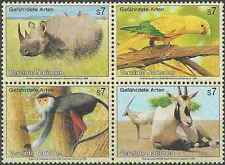 Timbres Animaux Nations Unies Vienne 200/3 ** année 1995 lot 18604