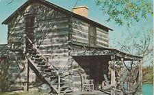 *(M)  Vandalia, IL - Senator Akin Evans' Log Cabin - Exterior - Side View