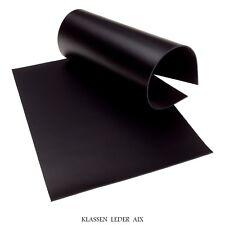 Rindleder Schwarz 2,5 mm Dick A4 Format Echt Leder LARP Leather 172