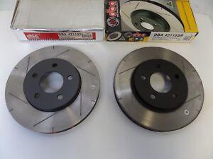 UC224 (Front Pair) DBA 4000 Series Rotors 2005-2010 Mustang Base V6