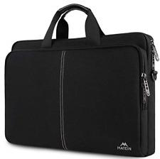 Matein 17.3 Inch Laptop Case, Slim Laptop Bag for Men Women, Casual Shoulder Fit
