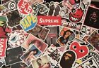 US Seller! 20 Random Skateboard, Hypebeast, Supreme, Bape, Cheap Stickers