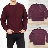 Nike SB Dunk Pro Skateboarding Sweater 938418 652 Burgundy Sweatshirt Mens LARGE